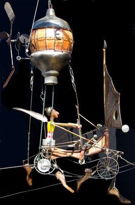 Univers de Robert Coudray musée du poète ferraileur à Lizio