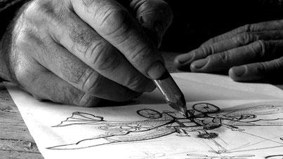Le poète, lécrivain, le sculpteur, le réveur... Robert Coudray